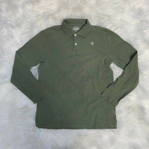 Crewcuts Everyday Boys Green Polo Shirt Size 14